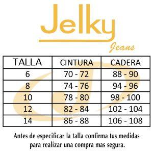 ESCALA DE MEDIDA DE JEANS Jelky