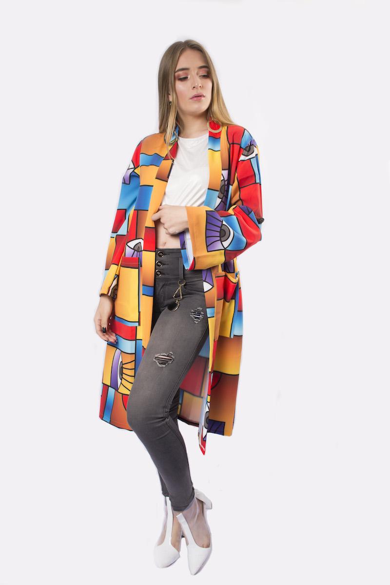 Kimono Lelis Amarillo