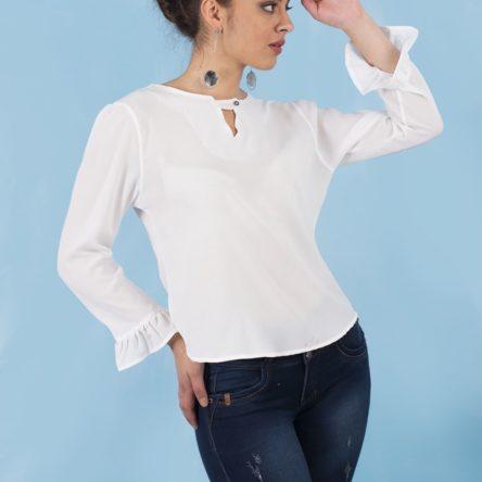 Blusa Vivian 2053 Blanca
