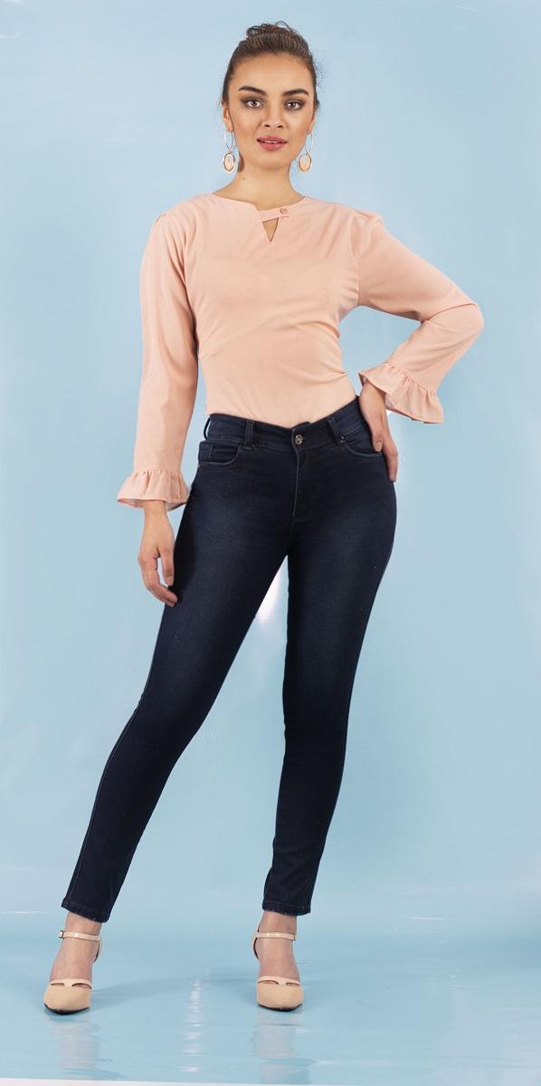 Jean Azul petróleo Jelky Jeans
