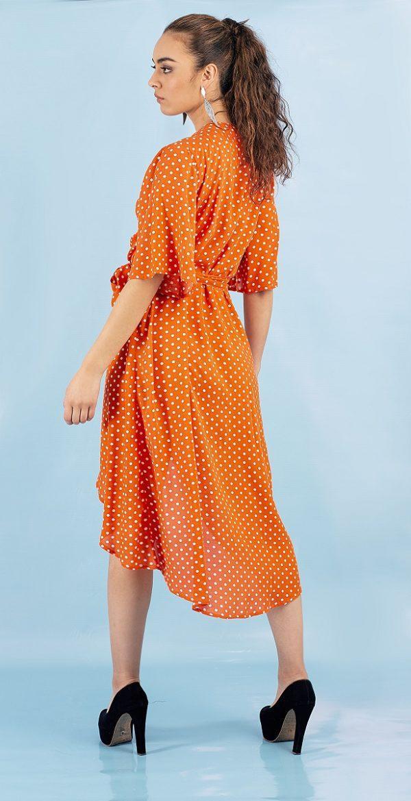 Vestido Largo Asly naranja Jelky Jeans