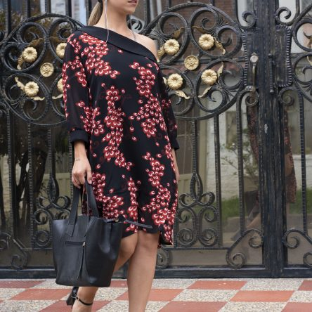 Vestido Mariam 20-109 Rojo