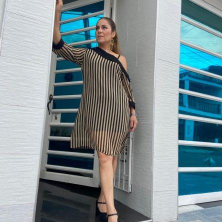 Vestido Mariam 20-109 Rayas